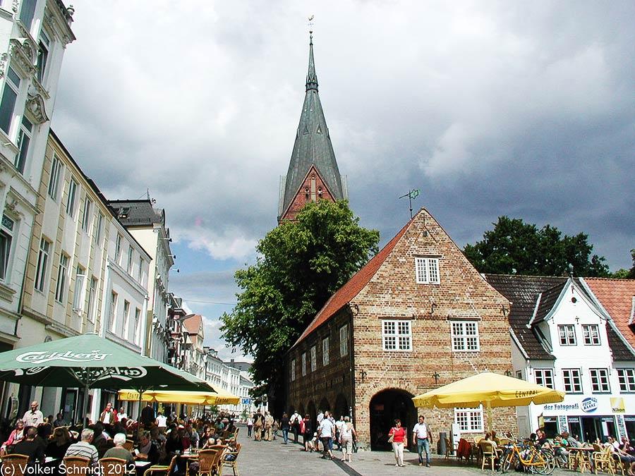 Nordermarkt in Flensburg