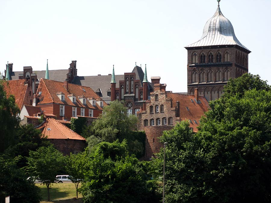 Urlaub in Lübeck Burgtor