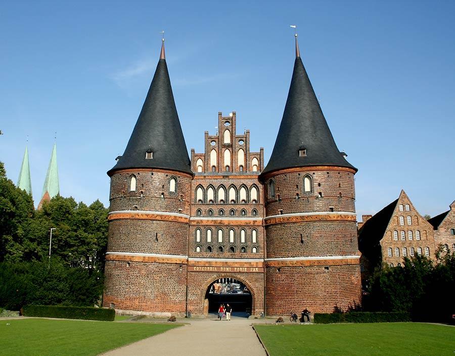 Das Holstentor in Lübeck, meistfotografiert im Urlaub in Lübeck