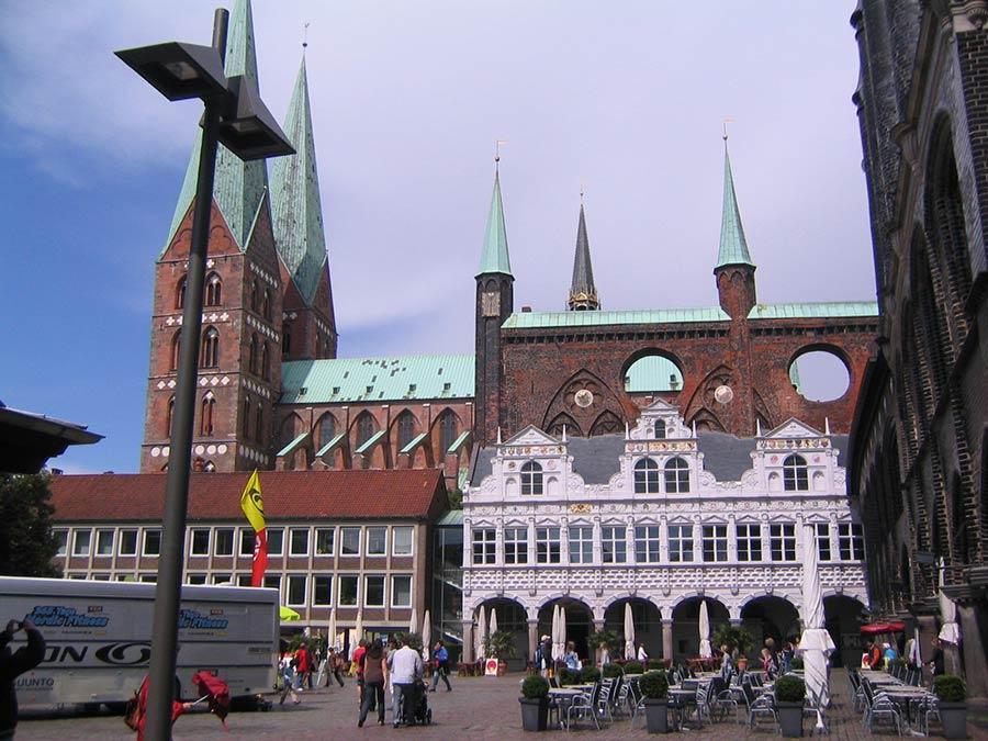 Lübecker Markt - zentrum im Urlaub in Lübeck