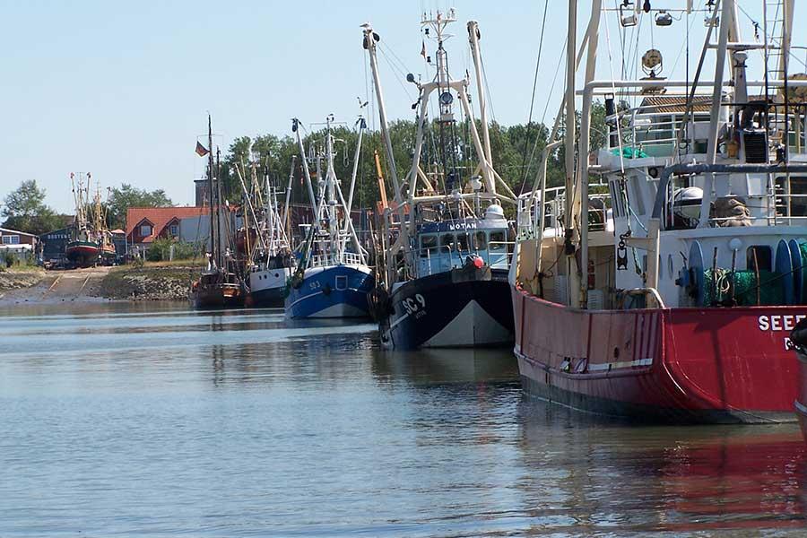 Büsumer Hafen Dithmarschen
