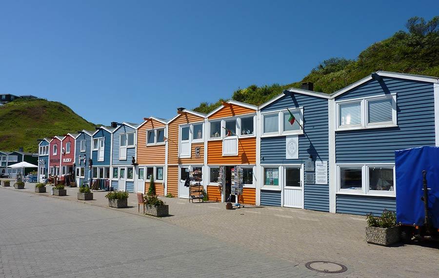 Hummerbuden - Urlaub auf Helgoland