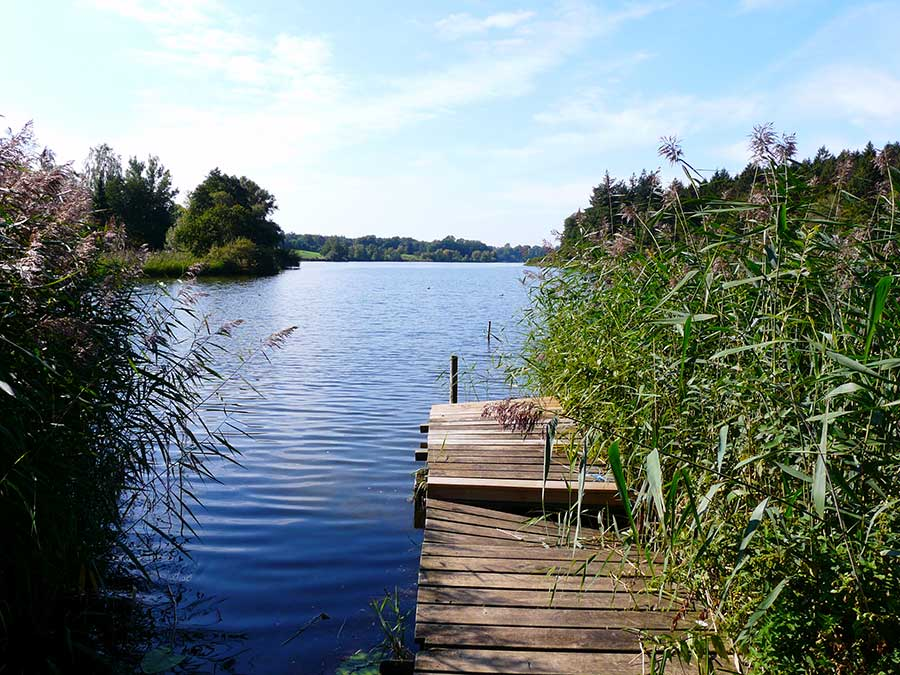 Kellersee in der Holsteinischen Schweiz - Urlaub in Schleswig-Holstein