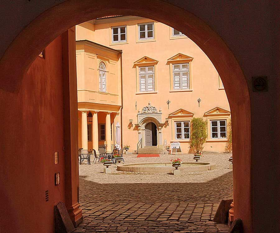 Eutin Schloss Innenhof