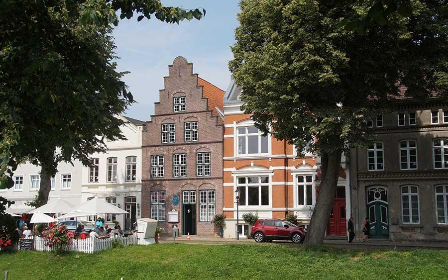 Holländerhaus in Friedrichstadt