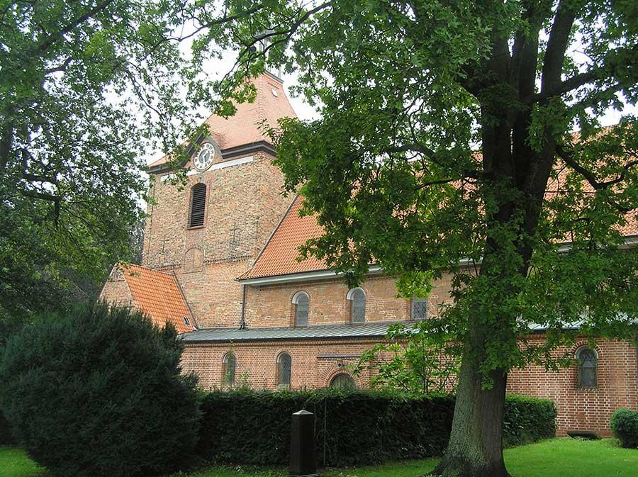 St. Johannis Kirche in Oldenburg in Holstein