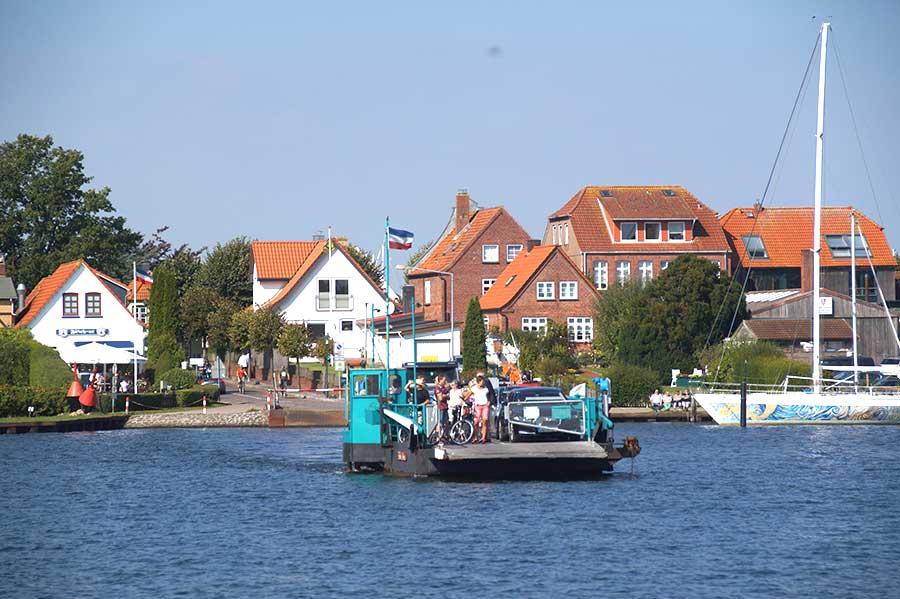 Arnis ist die kleinste Stadt Deutschlands