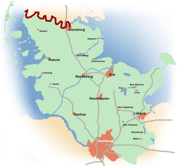 Rad fahren in Schleswig-Holstein