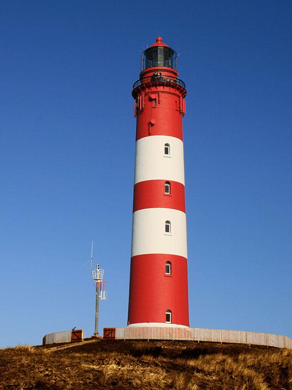 Leuchttürme auf Amrum an der Nordsee