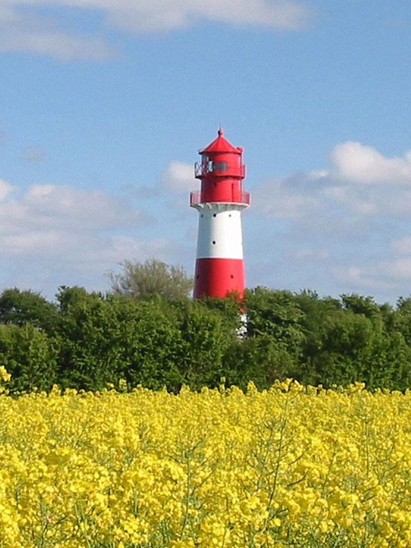 Leuchttürme bei Falshöft an der Flensburger Förde - Ostsee