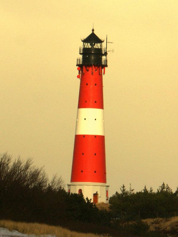 Der Leuchturm Hörnum auf Sylt - Nordsee
