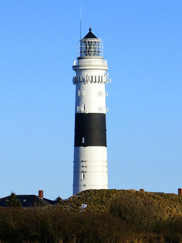 Leuchttürme auf Sylt - Der Leuchtturm Kampen auf Sylt an der Nordsee