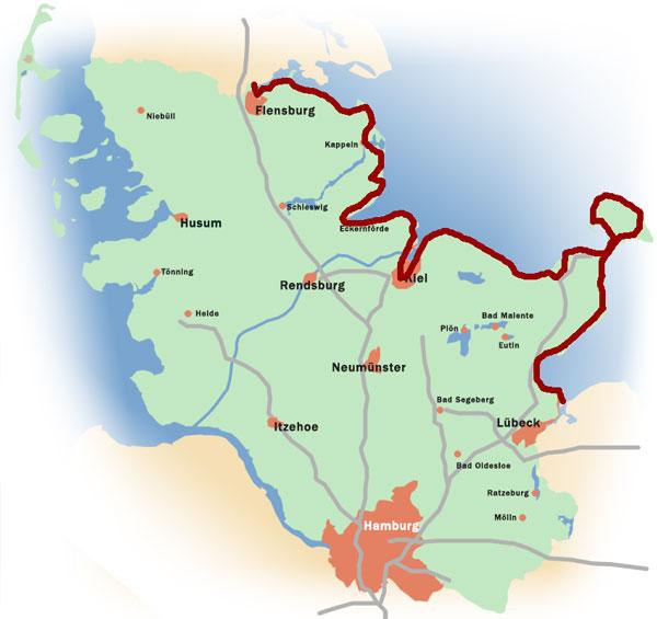 Radfahren in Schleswig-Holstein