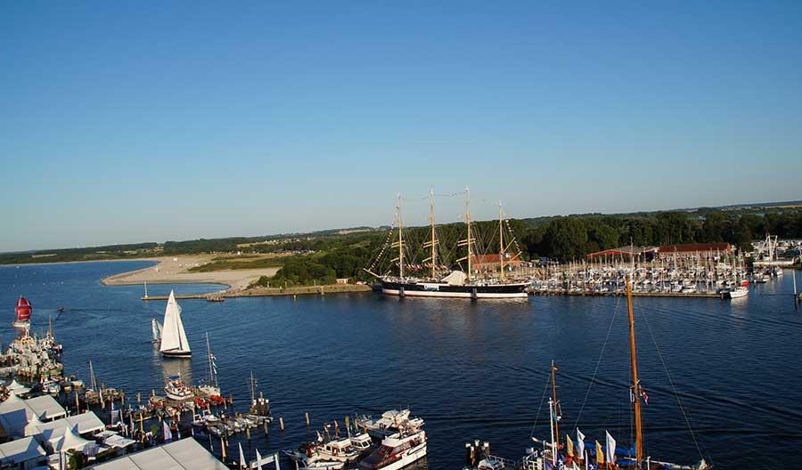 Travemünde an der Lübecker Bucht